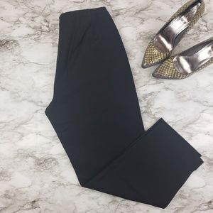 Eileen Fisher I Black Ankle Pants